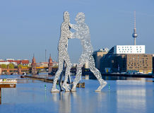 Molecule men Royalty Free Stock Photos
