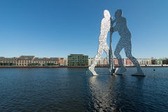Molecule Men Stock Photo
