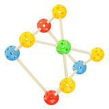 Molecule model Stock Photo
