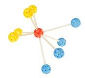 Molecule model Stock Photo