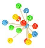 Molecule model Royalty Free Stock Photos