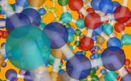 Molecule model Stock Images