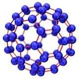 Molecule model Stock Photography
