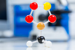 Molecule model Stock Photos