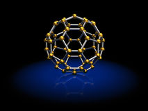 Molecule model Royalty Free Stock Photography