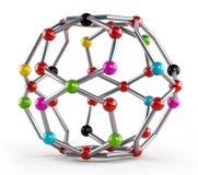 Molecule model Stock Photos