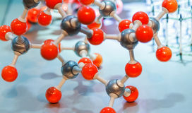 Molecule model of science concept,science background,science con. Tent and science education Stock Photos