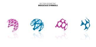Molecule set Royalty Free Stock Photography