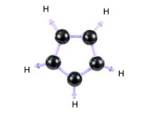 Molecule Structure Royalty Free Stock Image