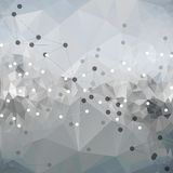 Molecule structure, background for communication, Stock Image