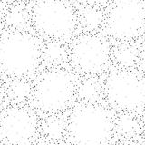Molecule structure background, seamless pattern Stock Photo