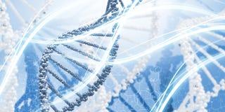 Molecule van DNA stock afbeelding