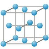 Molecule van ijzer Stock Fotografie
