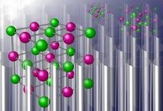 Molecules Royalty Free Stock Photo