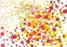 molecules Royalty-vrije Stock Foto