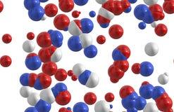 Molecules vector illustration