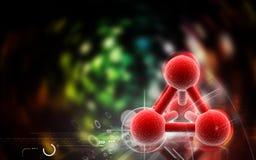 Molecules Royalty Free Stock Photos
