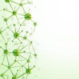 Molekülhintergrund Stockbilder