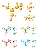 Molekülsymbole Lizenzfreie Stockfotografie