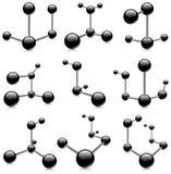 molekuła Obrazy Stock