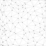 Molekuły struktura, szary tło dla Obrazy Royalty Free