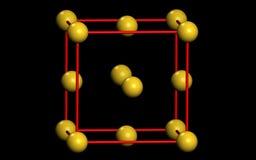 molekuła Obraz Royalty Free