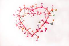 molekular von der Liebe mit Harmonie lizenzfreie stockfotografie