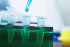 Molekularbiologie lizenzfreies stockbild