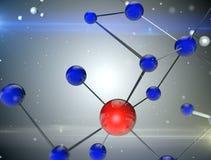 Molekulare Struktur Stockbilder