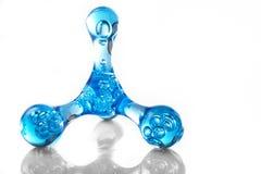 Molekularer Hintergrund stockbild