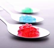 Molekularer Kaviar stockbilder