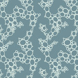 Molekulares Muster lizenzfreie abbildung