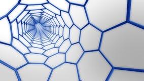 Molekulares Web lizenzfreie abbildung
