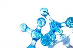 molekylär bakgrund Royaltyfri Fotografi
