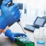 Molekylär biologi arkivfoton