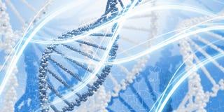 Molekyl av DNA:t Royaltyfri Foto