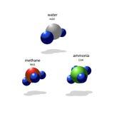 molekylar Stock Illustrationer