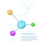 molekylar Royaltyfria Foton