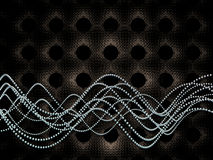 molekylär wave Royaltyfria Foton