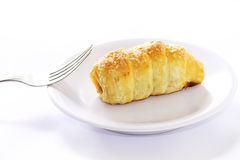 pastry - banana cake (molen) Stock Photos