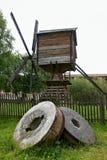 Molen in kirillo-Belozersky klooster, Vologda-gebied, Rusland Stock Afbeeldingen