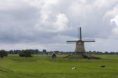 Molen Nederland, moulin Pays-Bas photographie stock