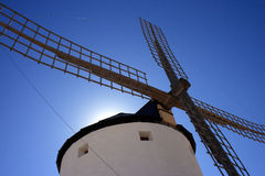 Molen in Spanje Royalty-vrije Stock Fotografie