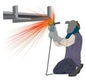 Molenarbeider Stock Foto