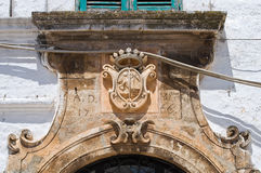 Molendino palace. Ostuni. Puglia. Italy. Stock Photo