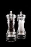 Molens met zout en peper Stock Fotografie