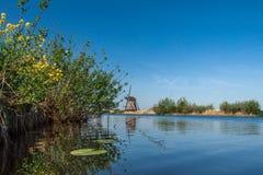 Molens van Kinderdijk Immagini Stock Libere da Diritti
