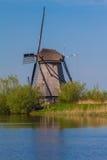 Molens van Kinderdijk. In the Netherlands Stock Images