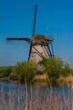 Molens van Kinderdijk. In the Netherlands Royalty Free Stock Images