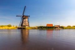 Molens van Kinderdijk Royalty Free Stock Photo